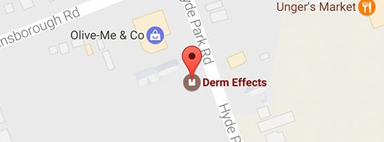 map of dermeffects location